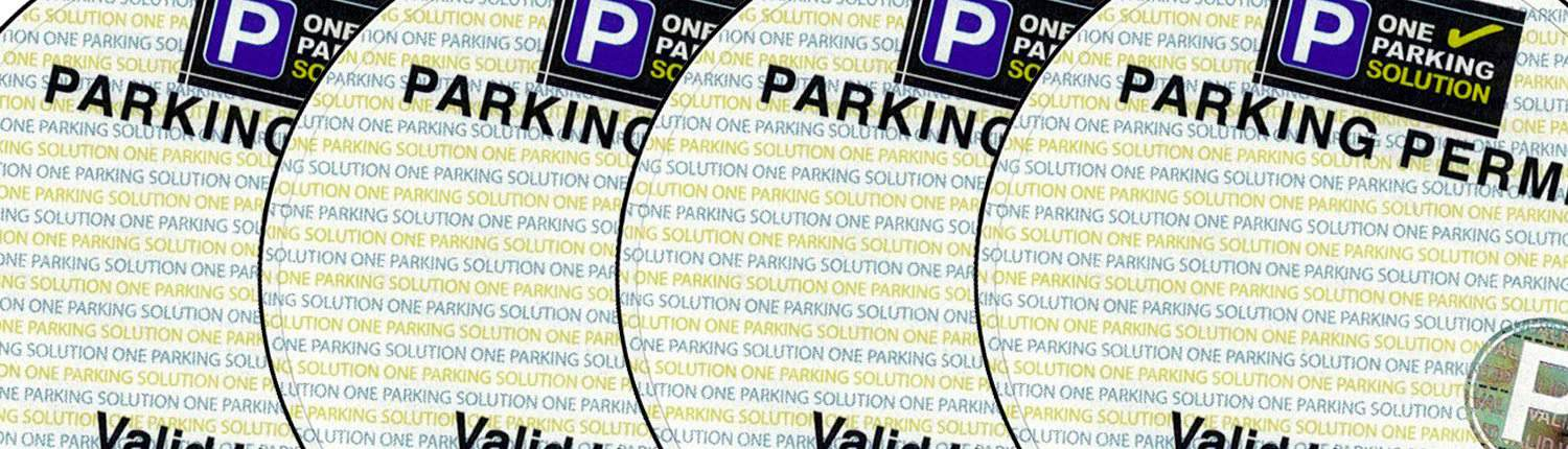 one parking solution permit image